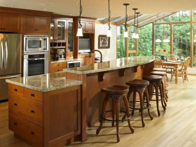 Dimensions for best size for a kitchen island